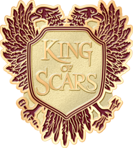 King of Scars by Leigh Bardugo pre-order pin